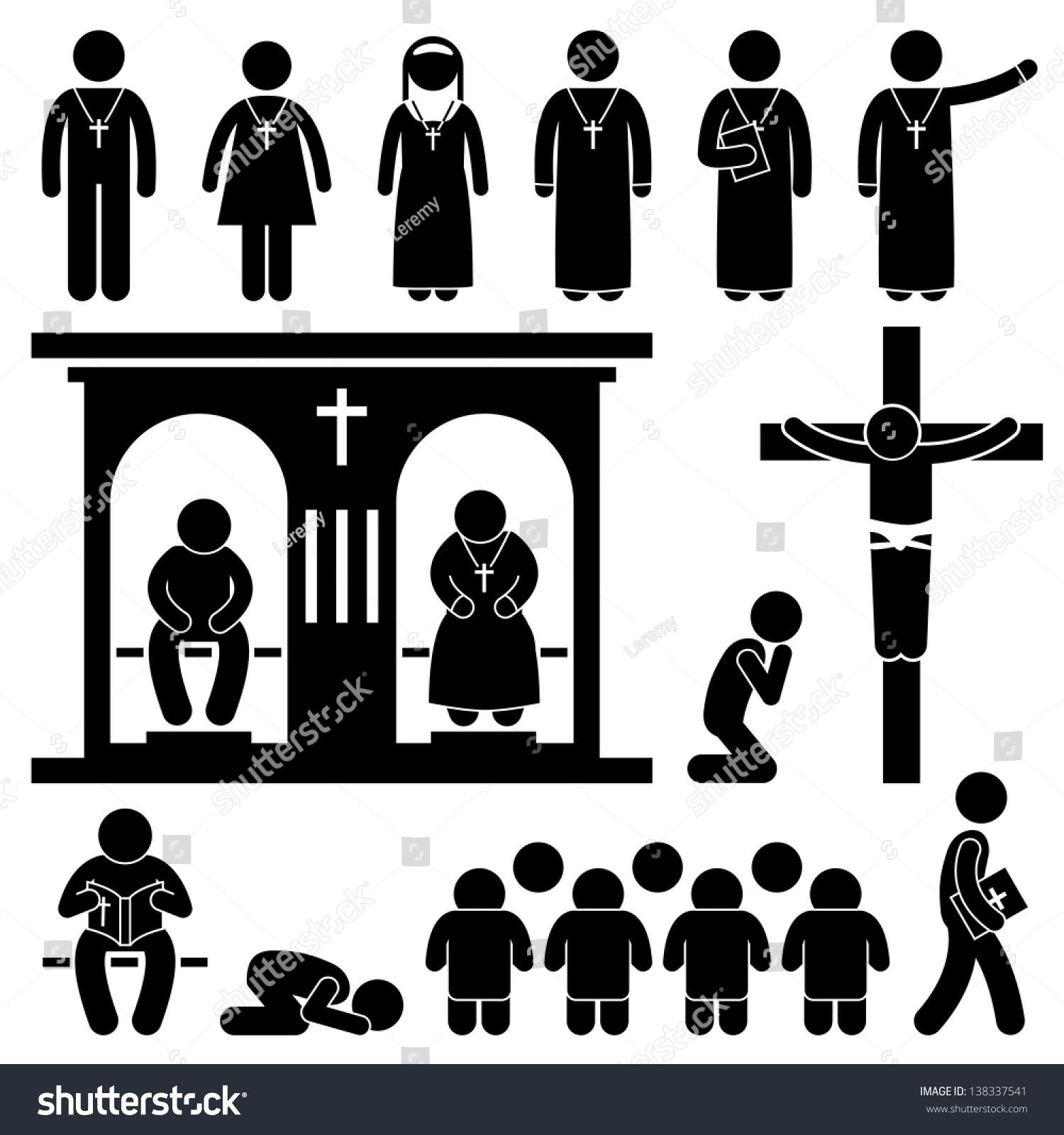 christian protestant cross symbol