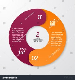 circle arrows for infographics template for cycle diagram options graph web design presentation and round chart business concept with 2 steps  [ 1500 x 1600 Pixel ]
