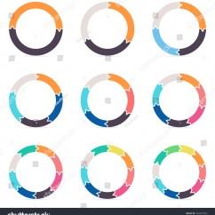 3 Arrow Circle Diagram L14 30p To L6 30r Wiring Circular Arrows Infographics Charts Diagrams 2 Stock