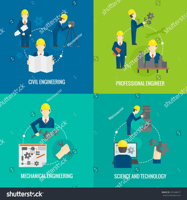 Civil Professional Mechanical Science Engineering Concept