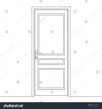 Door Leaf & Door Frame And Door Leaf Elevations | Interior ...