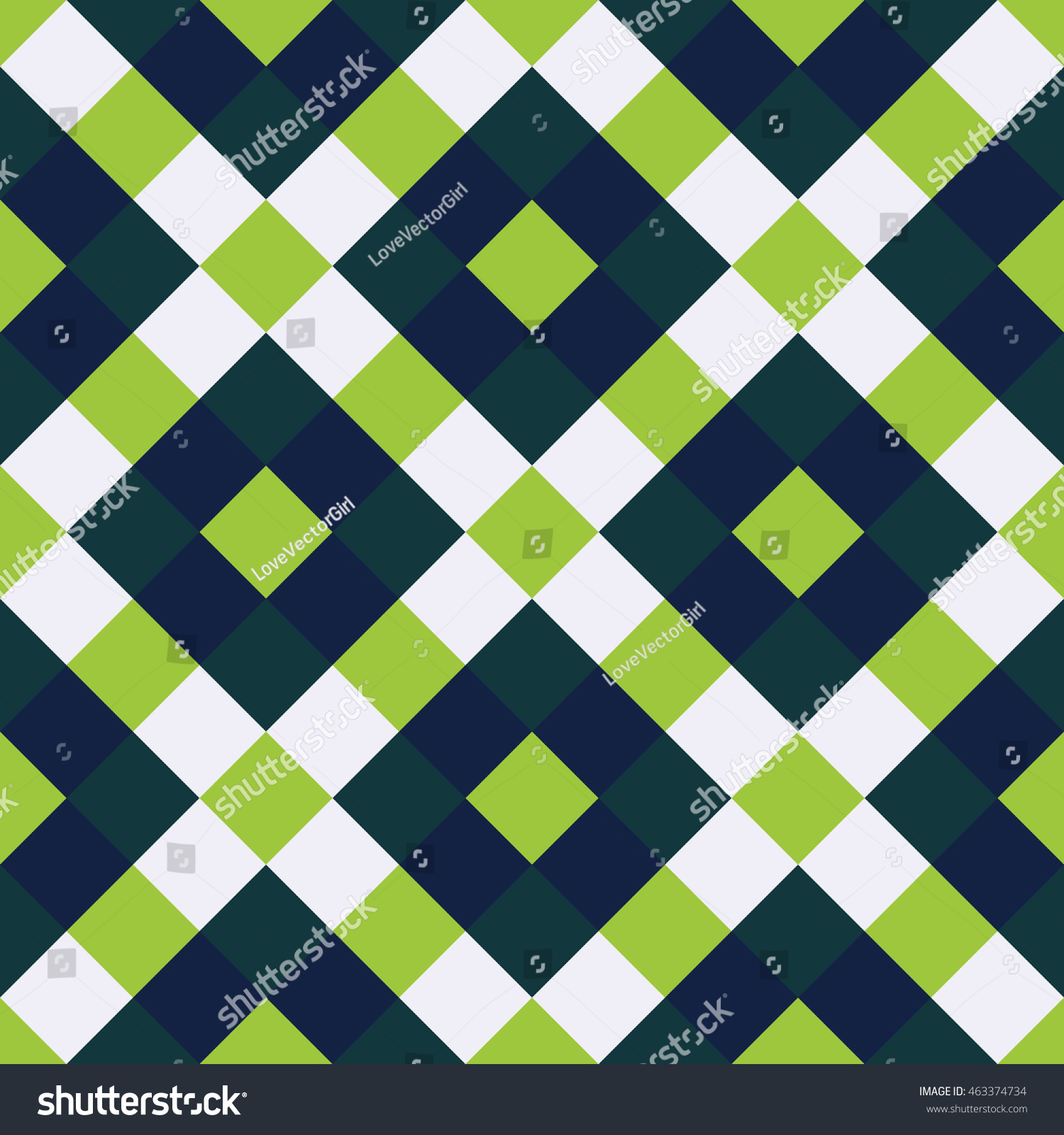 Color Geometric Shapes Square Pattern Background Stock