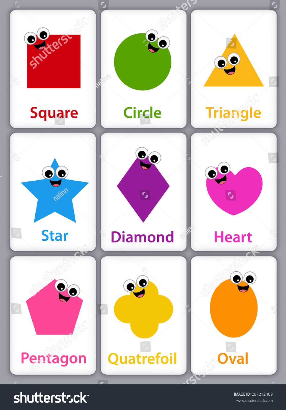 Shapes Names For Kids