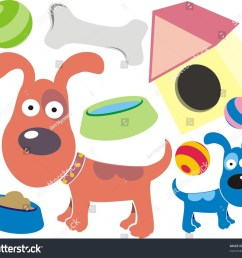colourful pet dog clipart collection [ 1500 x 1323 Pixel ]