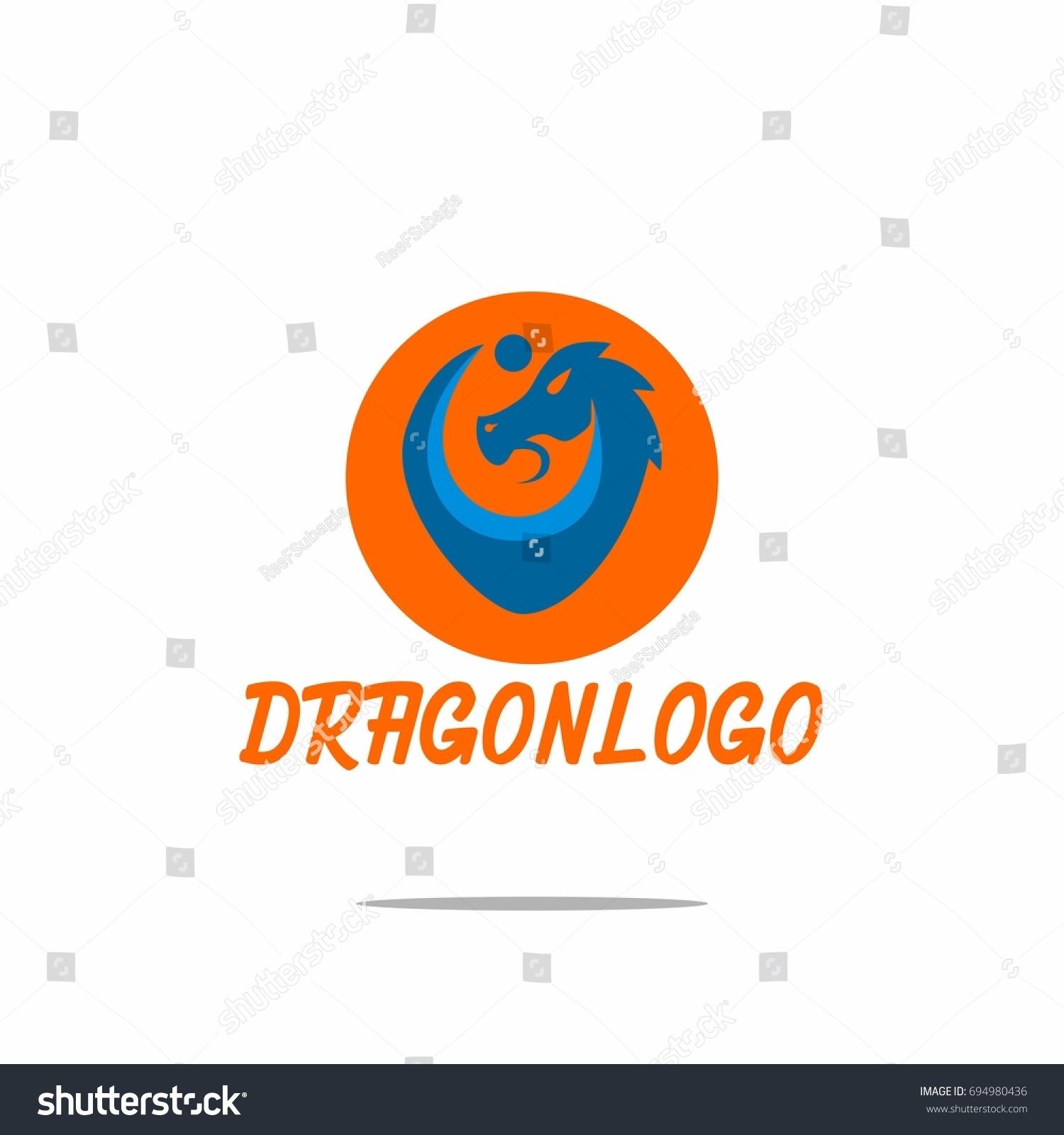 cool dragon logo design