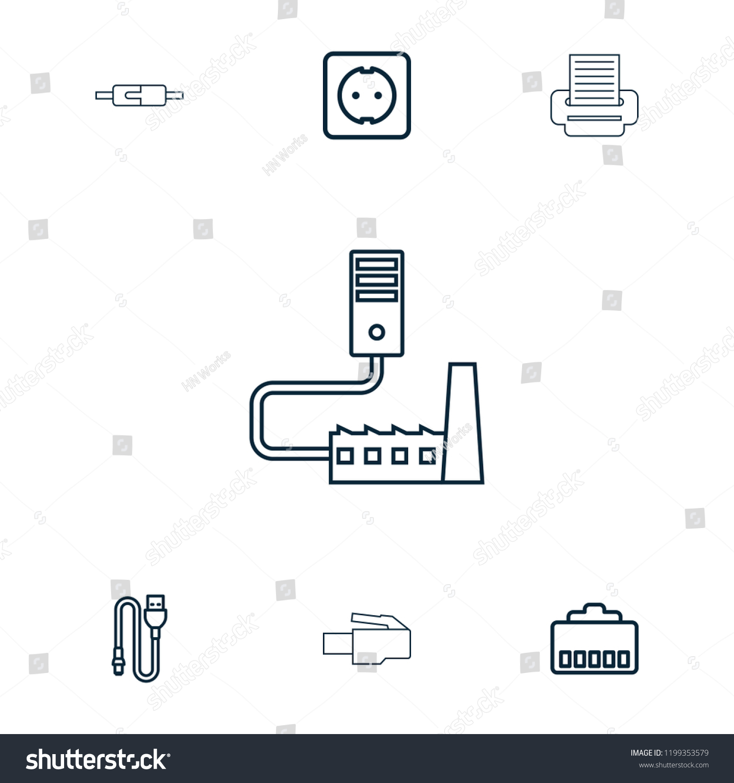 hight resolution of cord icon collection of 7 cord outline icons such as phone cable wire