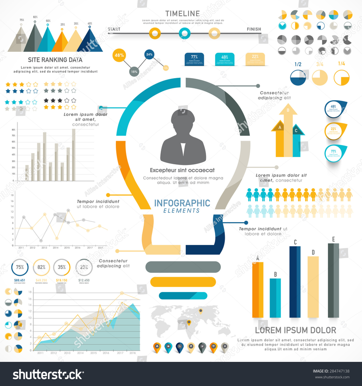 statistical analysis graphs and diagrams dc to ac inverter schematic diagram creative timeline infographic elements