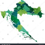 Vector De Stock Libre De Regalias Sobre Croatia World Map Country Icon1006779808