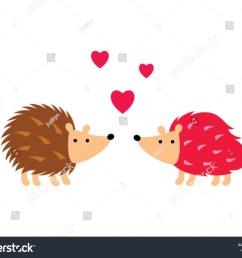 cute hedgehog in love vector cute porcupine valentine greeting card vector hedgehog love clipart  [ 1500 x 1207 Pixel ]