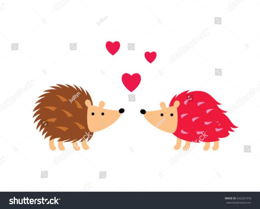 medium resolution of cute hedgehog in love vector cute porcupine valentine greeting card vector hedgehog love clipart