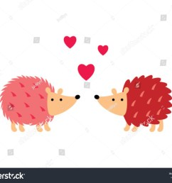 cute hedgehog in love vector cute porcupine valentine greeting card vector hedgehog love clipart [ 1500 x 1207 Pixel ]