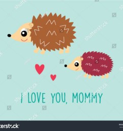 cute hedgehog mother day greeting card cute porcupine mother day greeting card cute porcupine mother day greeting card clipart cute porcupine mother day  [ 1500 x 1254 Pixel ]