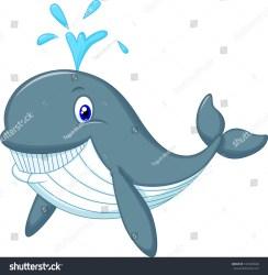 whale cartoon cute shutterstock vector