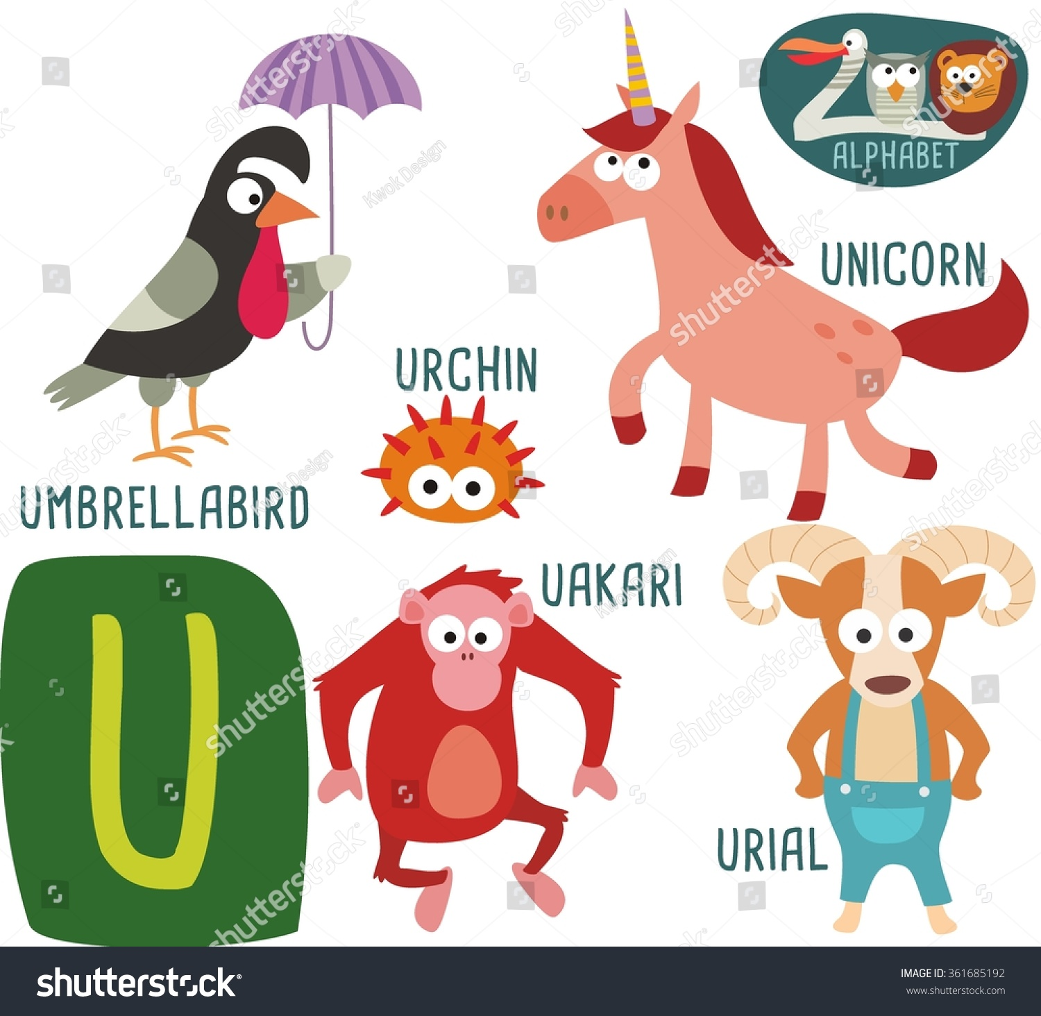 Animals That Start With The Letter U