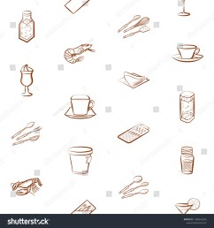 cutlery drinks seafood and table setting set background for printing design  [ 1500 x 1600 Pixel ]