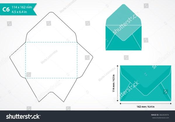 Standard Size Envelope Template