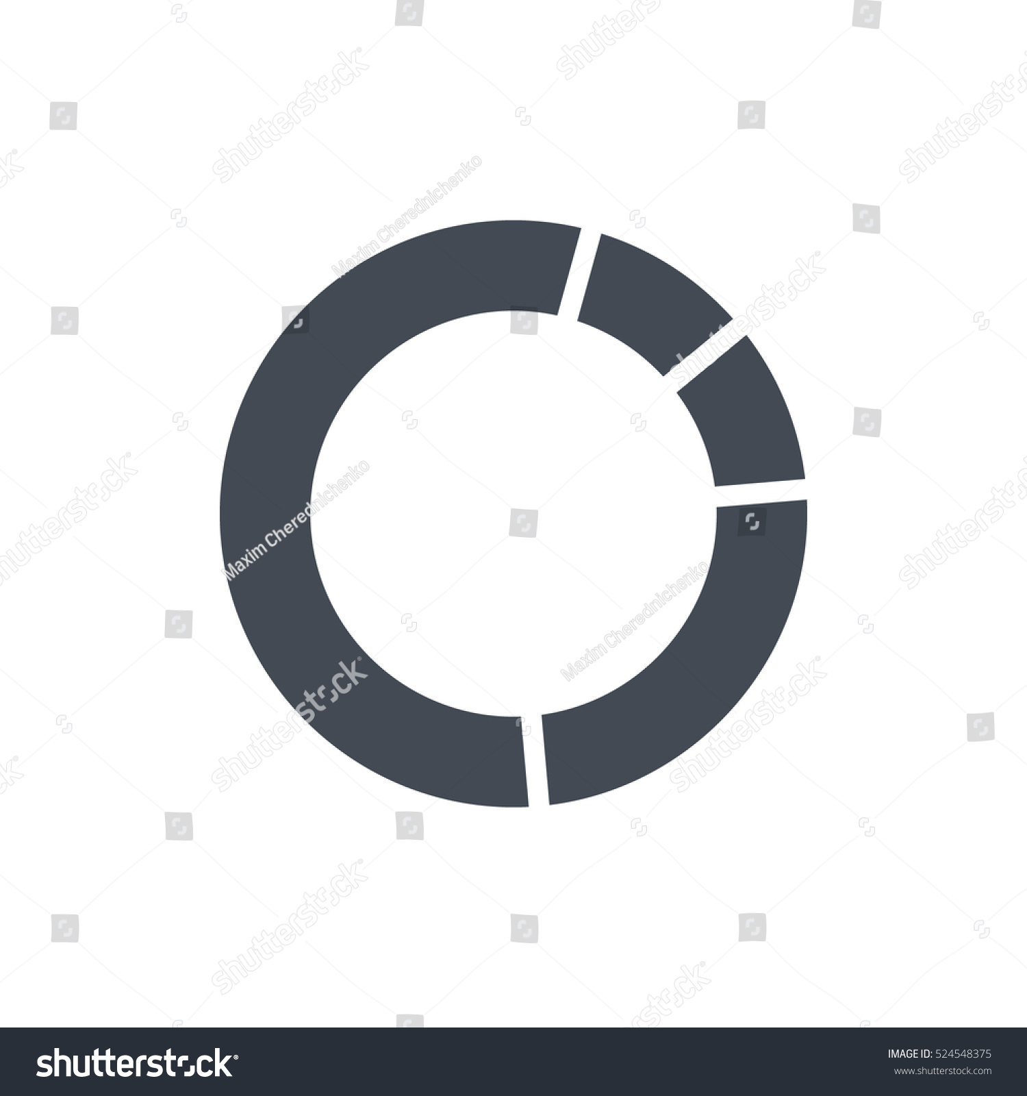 hight resolution of diagram chart icon vector business solid glyph silhouette