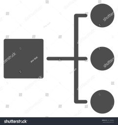 diagram icon from commerce set vector style flat symbol gray color rounded [ 1500 x 1600 Pixel ]