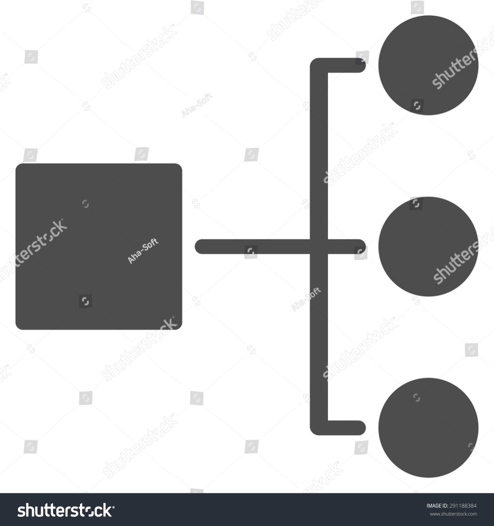 medium resolution of diagram icon from commerce set vector style flat symbol gray color rounded