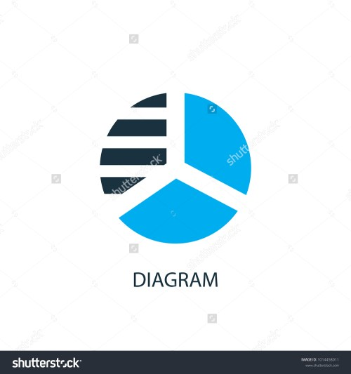 small resolution of diagram icon logo element illustration diagram symbol design from 2 colored collection simple