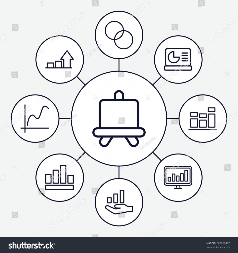 medium resolution of diagram icons set set of 9 diagram outline icons such as board circle intersection