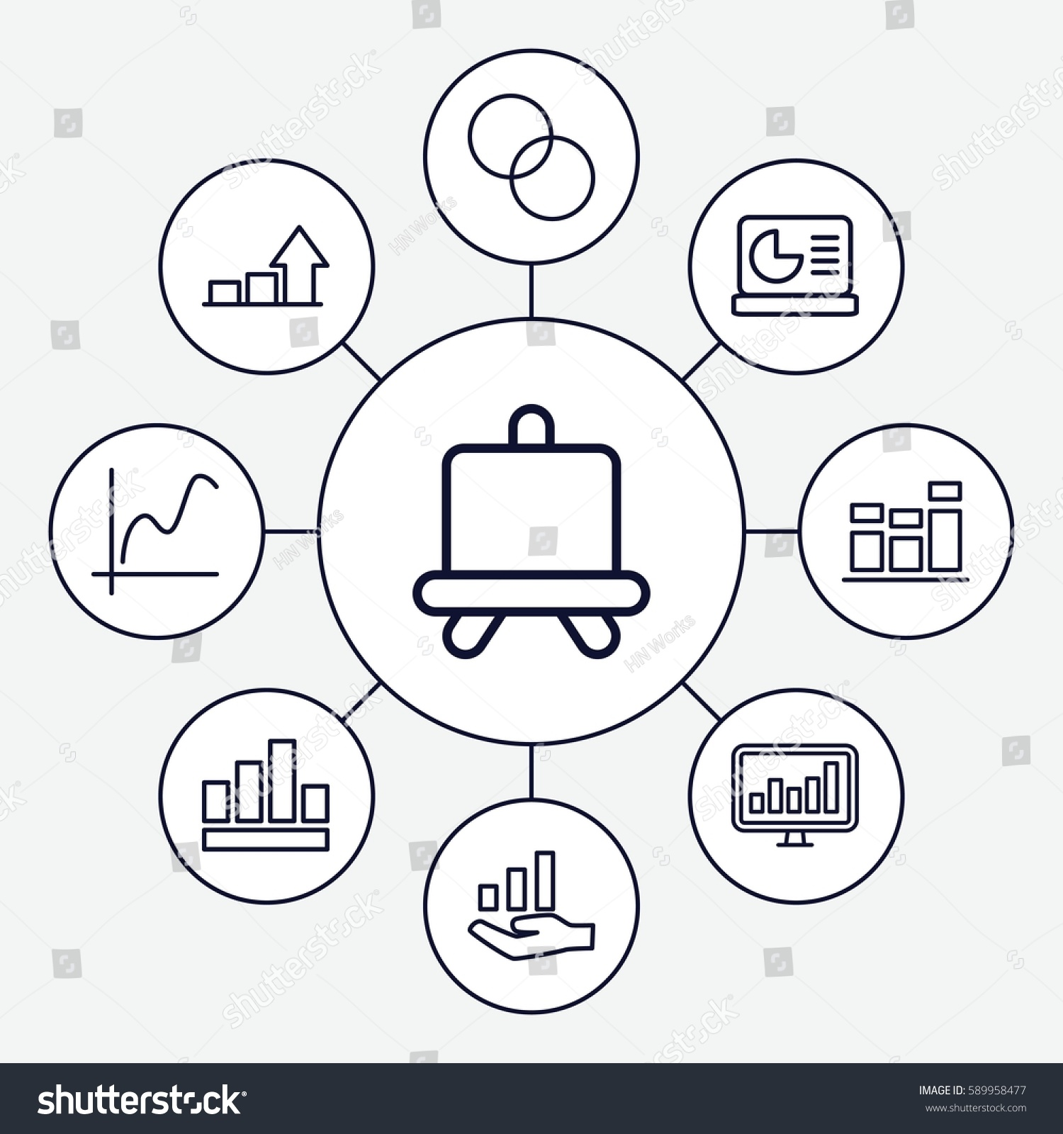 hight resolution of diagram icons set set of 9 diagram outline icons such as board circle intersection