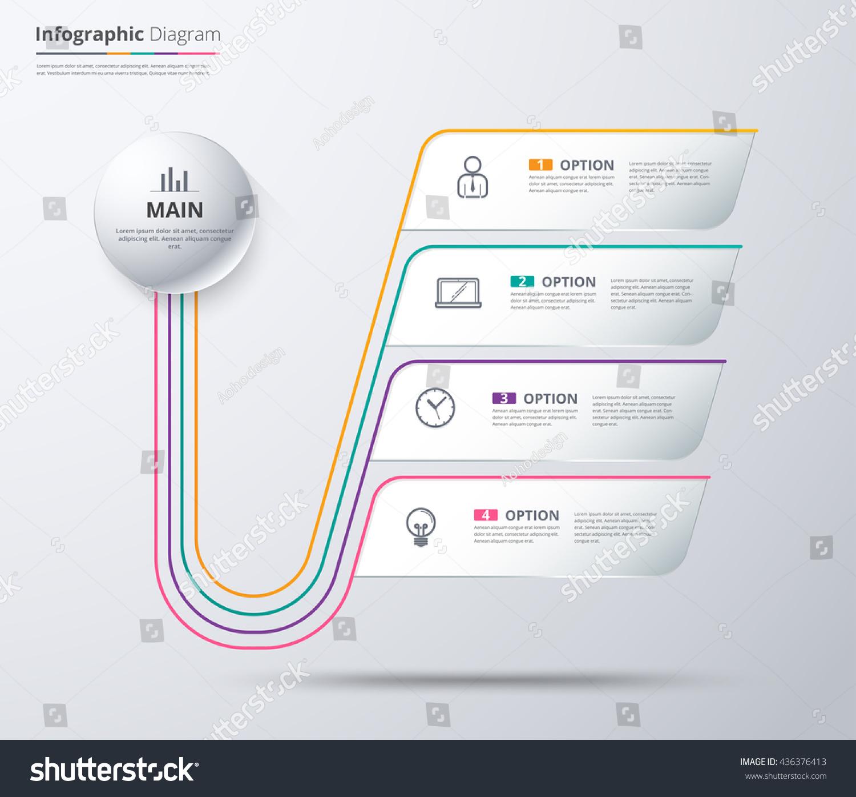 circular diagram flow chart template cat life cycle organization stock
