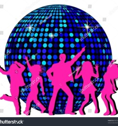 disco ball and dancing people [ 1500 x 1432 Pixel ]