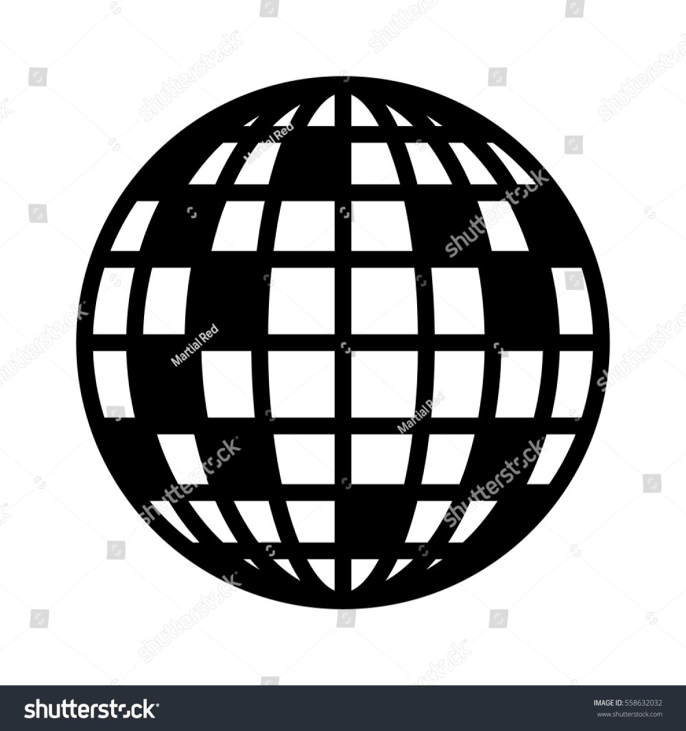 medium resolution of disco ball mirror or glitter ball flat vector icon for music apps and websites