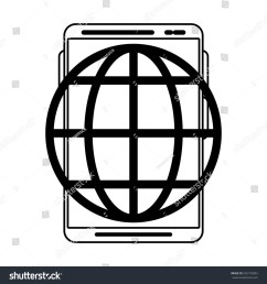 earth globe diagram icon image [ 1500 x 1600 Pixel ]