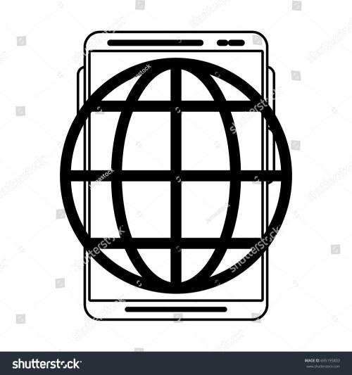small resolution of earth globe diagram icon image