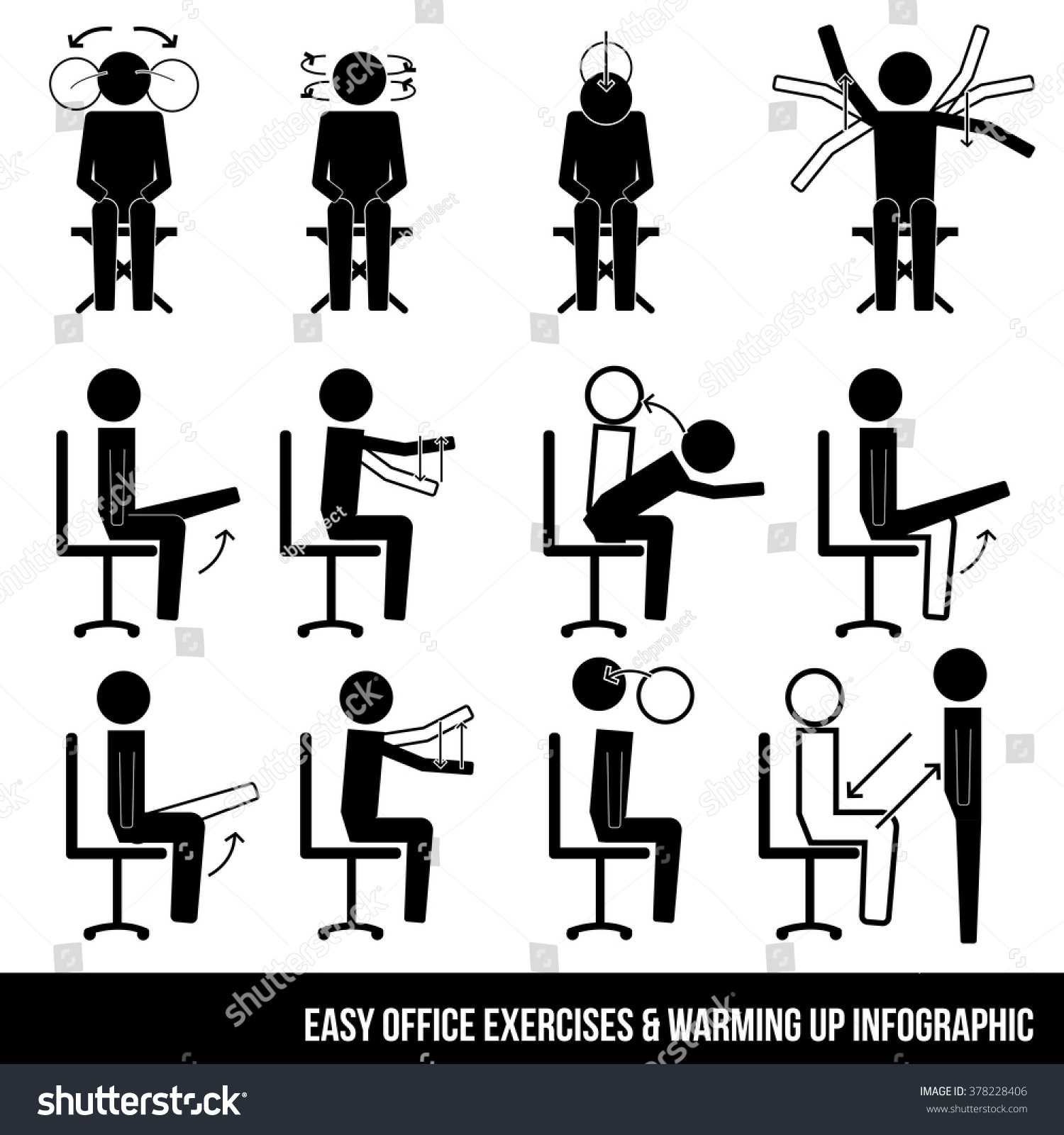 Workout Exercises Office Workout Exercises