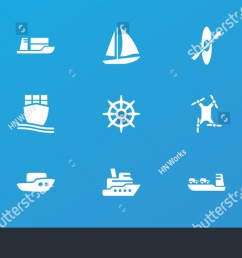 editable 15 boat icons boat ship helm cargo ship rowing  [ 1500 x 850 Pixel ]