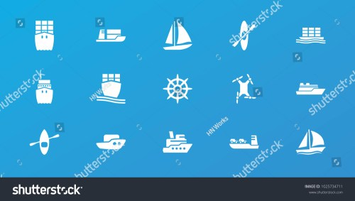 small resolution of editable 15 boat icons boat ship helm cargo ship rowing