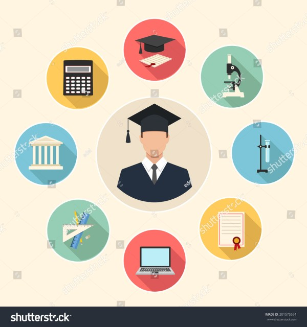 Education Infographics Icons