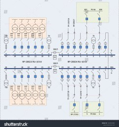 electric wiring diagram for power transformers vector [ 1476 x 1600 Pixel ]