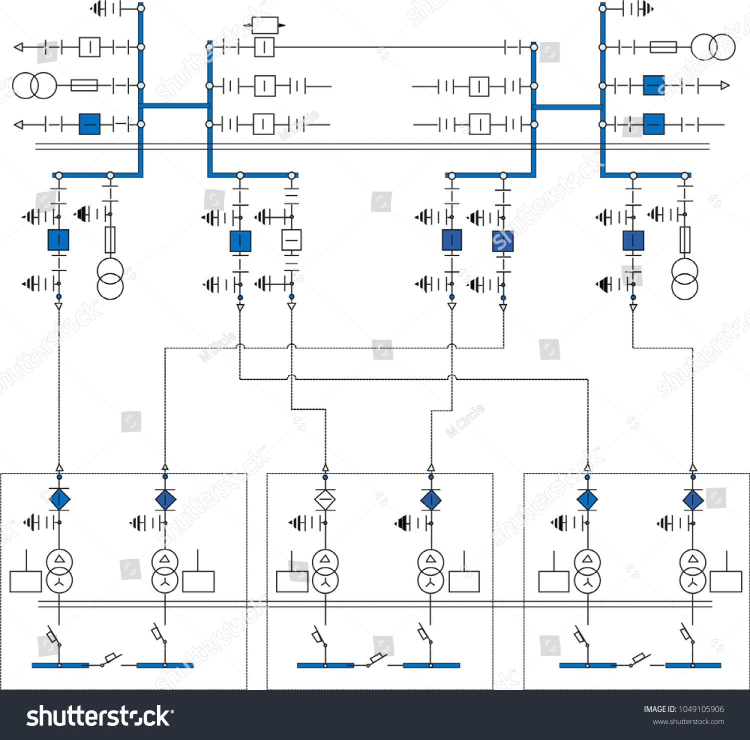 hight resolution of electric wiring diagram for power transformers