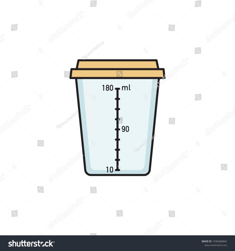 medium resolution of empty sterile plastic container for urine specimen sample collection medical exam urinalysis flat vector illustration isolated on white background