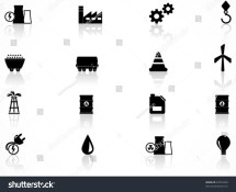 Energy And Industry Icons Set Stock Vector 67076230
