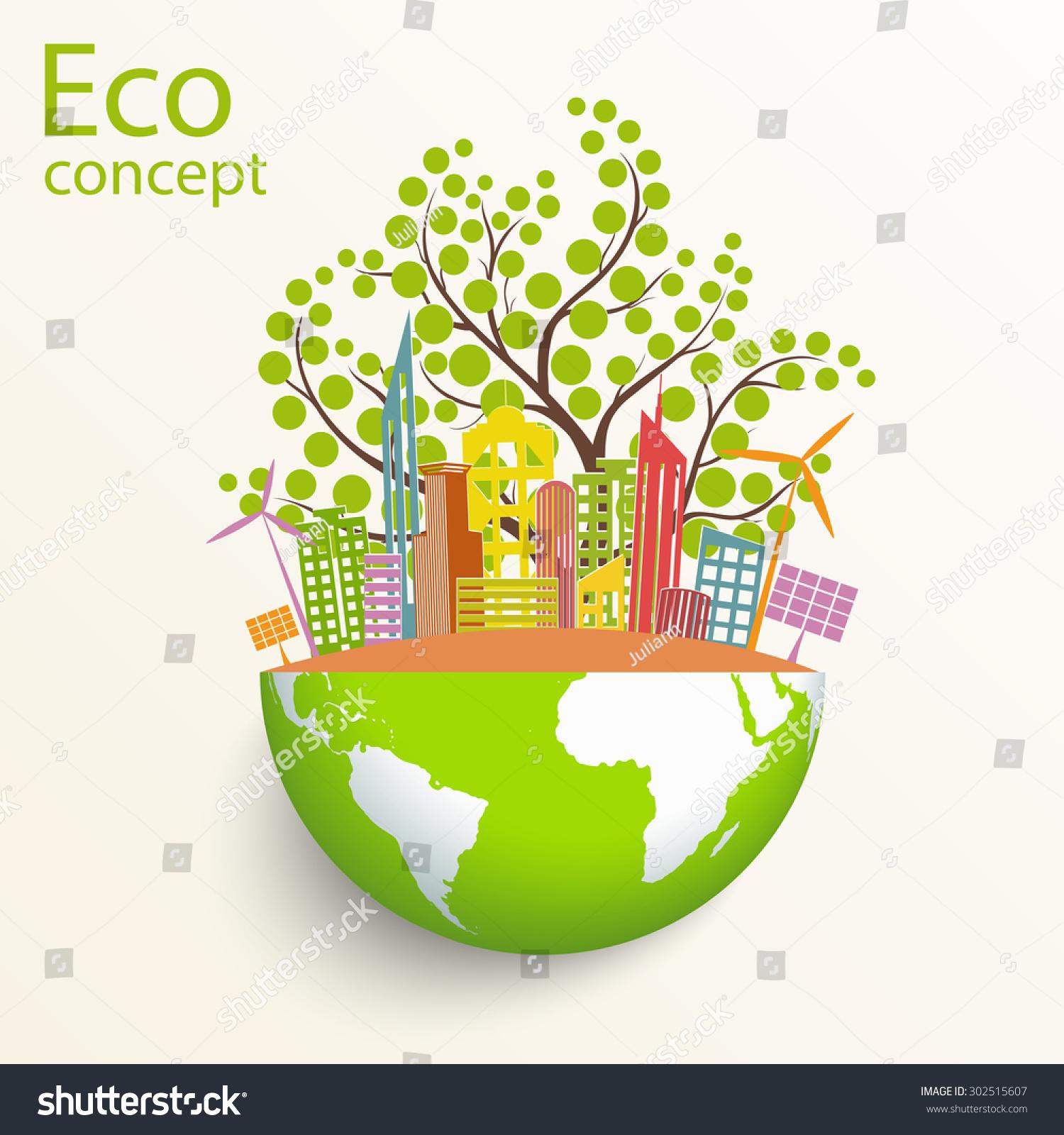 Environmentally Friendly World City Solar Panels Stock