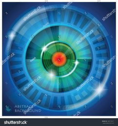 eye shape vector abstract background design template [ 1500 x 1600 Pixel ]