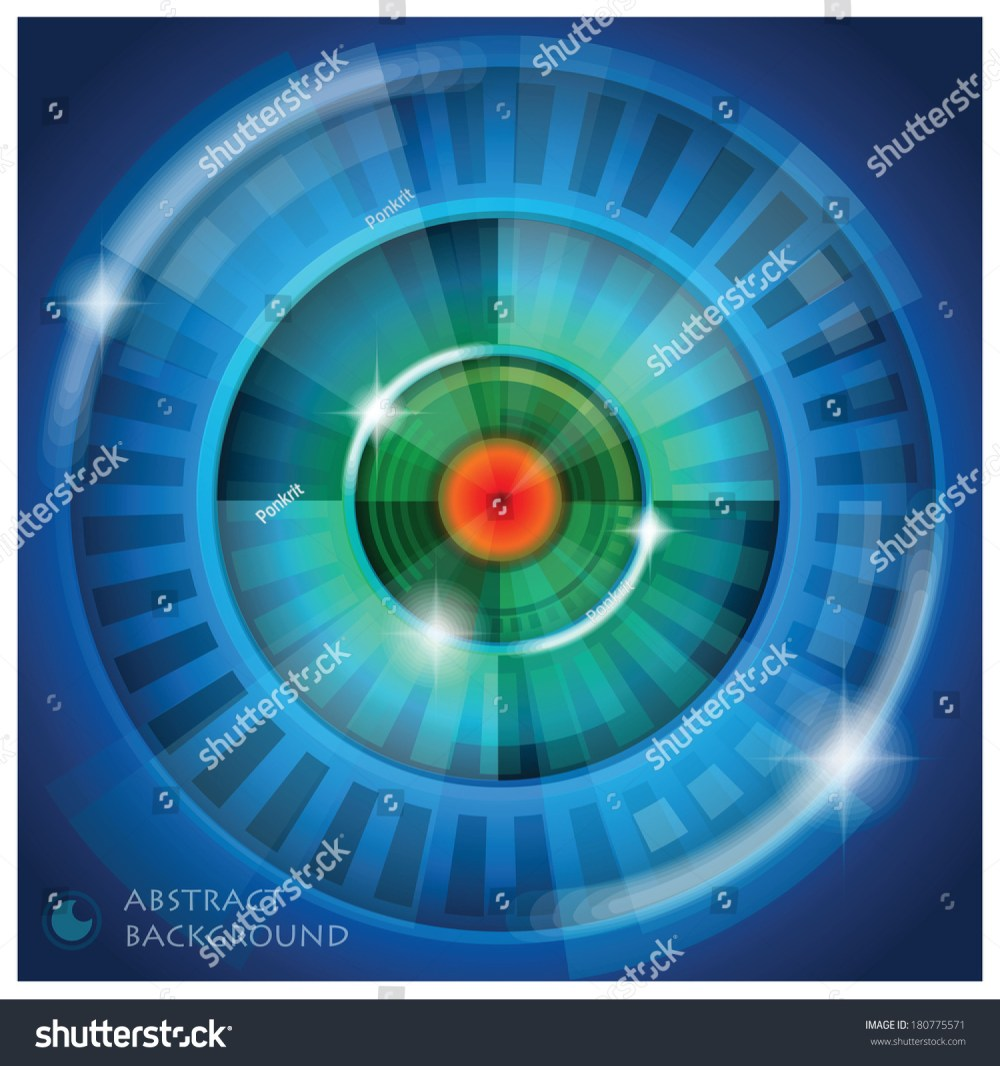 medium resolution of eye shape vector abstract background design template