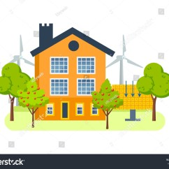All Summer In A Day Plot Diagram Jayco Tent Trailer Wiring Farm House Land On Which Stock Vector 588714959