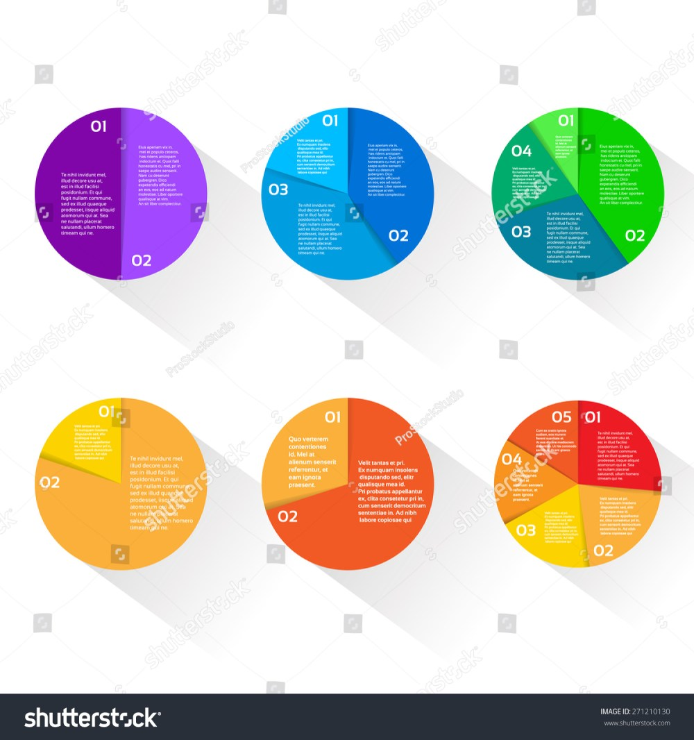 medium resolution of finance pie diagram circle infographic with financial business graph set vector illustration