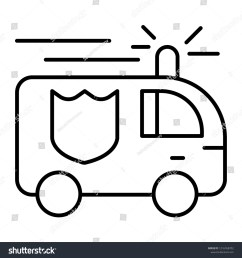 fire engine thin line icon fire truck vector illustration isolated on white firefighting car [ 1500 x 1600 Pixel ]