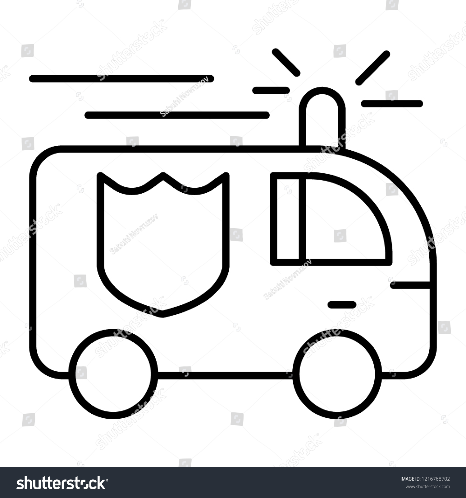 hight resolution of fire engine thin line icon fire truck vector illustration isolated on white firefighting car