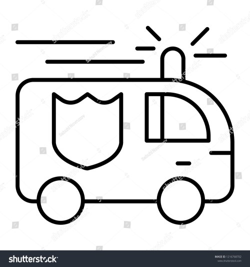 small resolution of fire engine thin line icon fire truck vector illustration isolated on white firefighting car