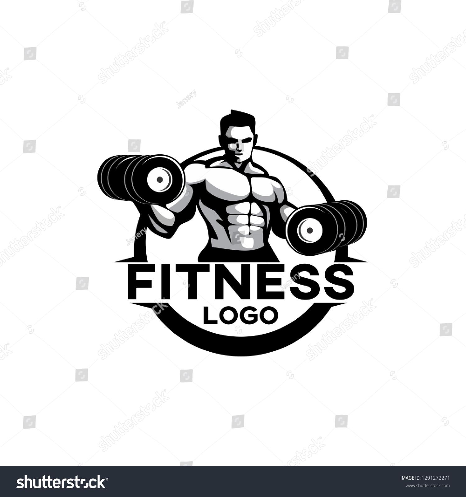 Fitness Logo Vector Design Template Design Stock Vector Royalty Free 1291272271