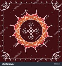 Folk Tribal Designs Motif Wall Painting Stock Vector ...