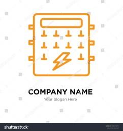 fuse box company logo design template business corporate vector icon fuse box symbol [ 1500 x 1600 Pixel ]